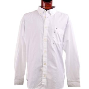 Tipo Polo Tommy Hilfiger Blanco Madeira ropa importada