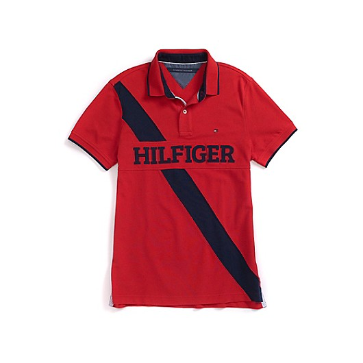 Tipo Polo Roja Tommy Hilfiger - Madeira ropa importada 8ef4065d79fd1