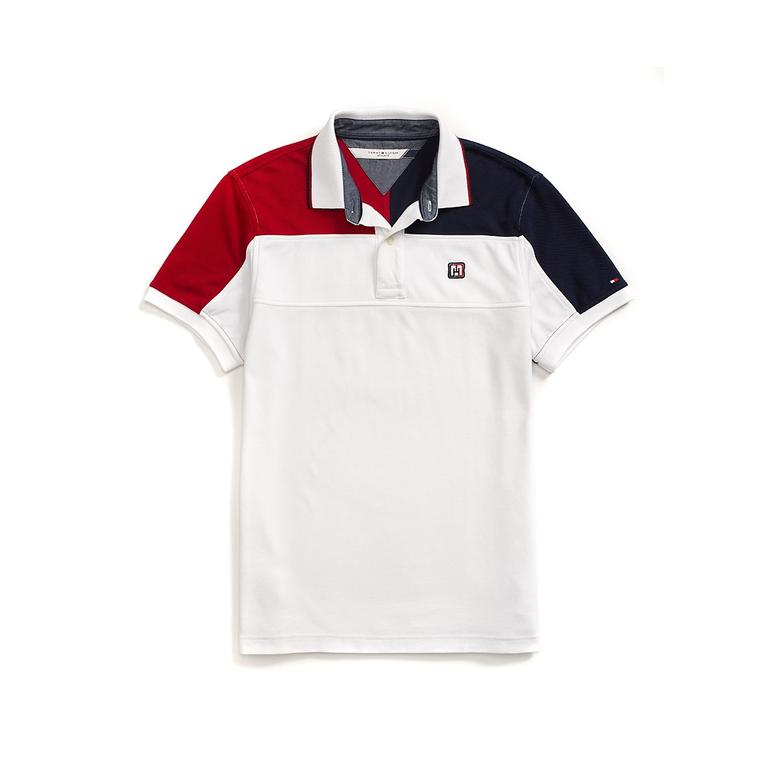 Tipo Polo Tommy Hilfiger Blanco - Madeira ropa importada 6c2c38447192b